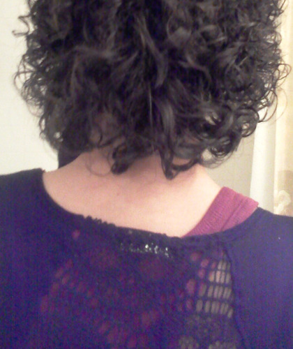 Short Curly - Brunette, 3b, 3a, Very short hair styles, Short hair styles, Female, Black hair, Adult hair, Layered hairstyles Hairstyle Picture