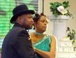 Elegant Bantu Knots for 20th Wed