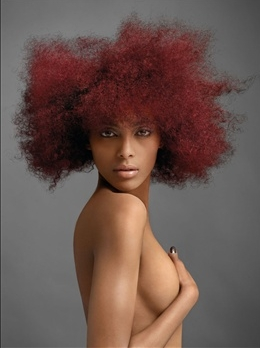 Davines - Redhead, 4a, Afro, Styles, Female Hairstyle Picture