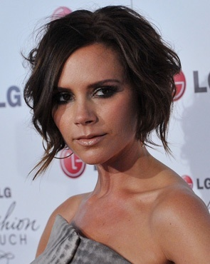 Victoria Beckham - Brunette, Celebrities, Short hair styles, Female, Bob hairstyles Hairstyle Picture