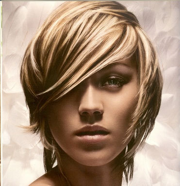 Weave - Blonde, Short hair styles, Styles, Female, Adult hair, Straight hair, Weave hairstyles Hairstyle Picture