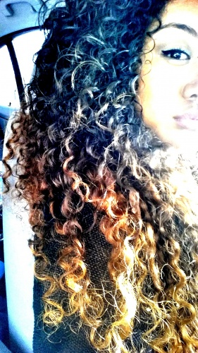 Sun Kissed Curls???????????? - 3a, Celebrities, Wavy hair, Long hair styles, Readers, Female, Curly hair, Teen hair, Curly kinky hair Hairstyle Picture