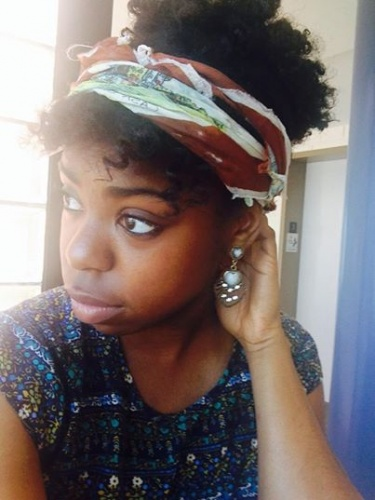 Bantu Knot Out Puff - Short hair styles, Updos, Kinky hair, Readers, Female, Teen hair, Black hair, Bantu knot out Hairstyle Picture