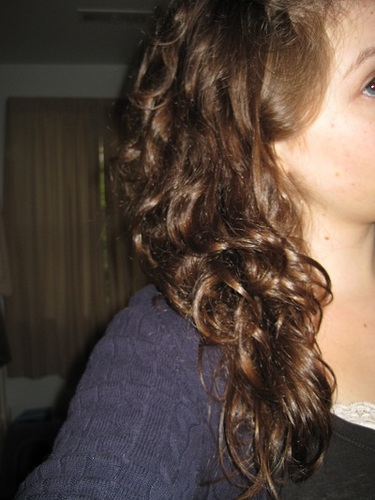 Amazing hair day for me! - Brunette, Long hair styles, Readers, Female, Curly hair, Teen hair Hairstyle Picture