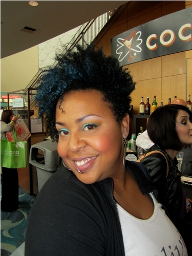 International Salon and Spa Expo - Very short hair styles, Short hair styles, Kinky hair, Female, Black hair, Adult hair, Textured Tales from the Street Hairstyle Picture