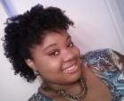 Bantu knot out - Medium hair styles, Styles, Female, Black hair, Adult hair, Bantu knots, Curly kinky hair Hairstyle Picture