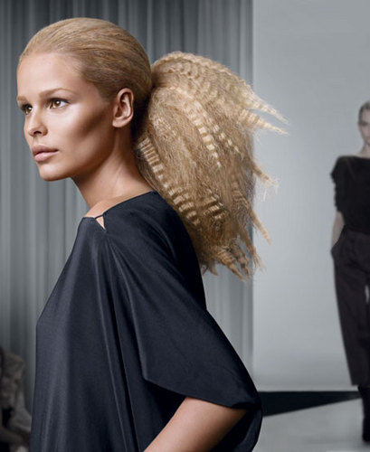 Redken - Blonde, 2b, Medium hair styles, Updos, Styles, Female, 2c Hairstyle Picture