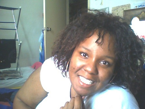 transitioning - Medium hair styles, Readers, Female, Black hair, Adult hair, Twist out, Braid out, Curly kinky hair Hairstyle Picture