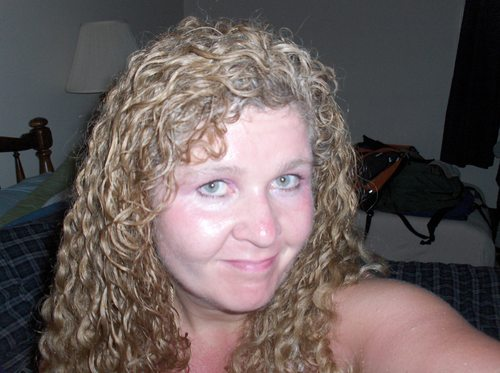 Kentley's 3b curls - Blonde, 3b, Long hair styles, Readers, Female, Curly hair, Adult hair, Spiral curls Hairstyle Picture