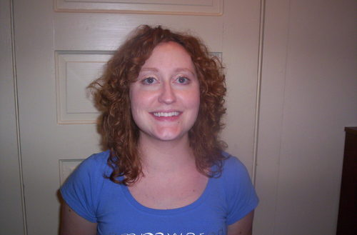 Haircut front - Redhead, 3b, 3a, Medium hair styles, Readers, Styles, Female, Curly hair, Adult hair Hairstyle Picture