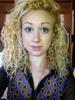3B Yellow Bleach Blonde curls Courtney Reid Harris