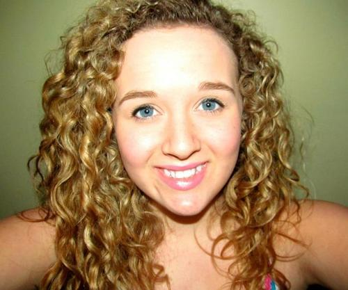 Crazy curls. - Blonde, Long hair styles, Readers, Female, Teen hair, Layered hairstyles Hairstyle Picture