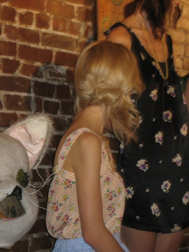 Allison Lewis- Viewing - Blonde, 2b, Wavy hair, Updos, Long hair styles, Styles, Special occasion, Female Hairstyle Picture