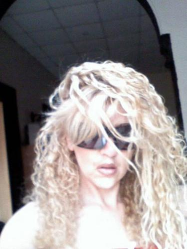 last summer - Blonde, Long hair styles, Curly hair, Adult hair, Homecoming hairstyles, Spiral curls Hairstyle Picture