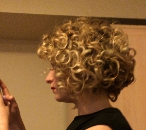 First CG week/ curly bob - Blonde, 3a, Readers, Female, Bob hairstyles Hairstyle Picture