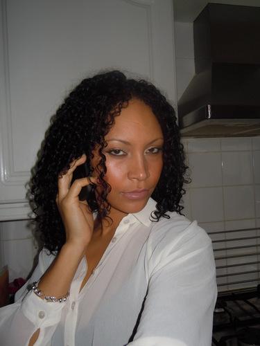 Curls - 3b, 3c, Medium hair styles, Long hair styles, Readers, Female, Curly hair, Black hair, Adult hair Hairstyle Picture