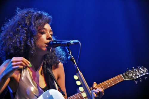Corinne Bailey Rae - Brunette, Celebrities, Long hair styles, Female, Curly hair, Black hair, Adult hair Hairstyle Picture
