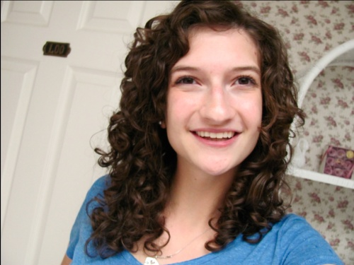 My First Diva Cut - 3a, Readers, Curly hair, Makeovers Hairstyle Picture