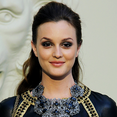 Leighton Meester - Brunette, Celebrities, Wavy hair, Updos, Long hair styles, Female Hairstyle Picture