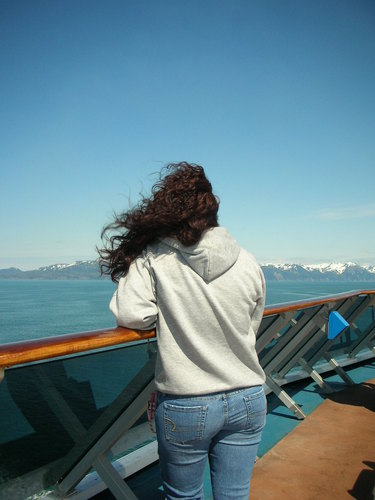 Alaskan Beauty - Brunette, Long hair styles, Readers, Crazy Curls Contest, Female Hairstyle Picture