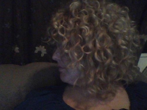 bigish curls - Blonde, 3b, Medium hair styles, Readers, Female, Curly hair, Adult hair Hairstyle Picture