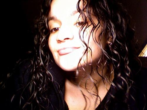 Loving the curls - Brunette, Long hair styles, Readers, Female, Curly hair, Black hair, Adult hair Hairstyle Picture