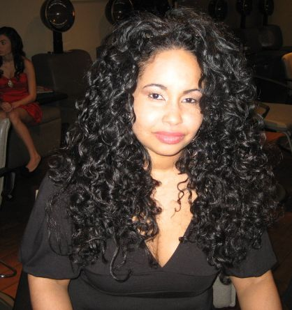 At Ouidads 3/16 Catwalk Curls Ev - Long hair styles, Readers, Female, Curly hair, Black hair, Adult hair Hairstyle Picture