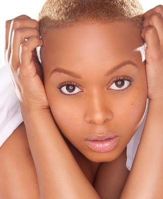 Chrisette Michele - Blonde, Celebrities, Very short hair styles, Kinky hair, Teeny weeny afro Hairstyle Picture