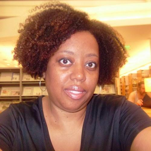 EcoStyler Klear Gel Day2 - Brunette, 4b, Short hair styles, Medium hair styles, Kinky hair, Readers, Female, Adult hair, Curly kinky hair Hairstyle Picture