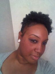 Day 4 Bantu Knot - 3c, Short hair styles, Updos, Kinky hair, Black hair, Adult hair Hairstyle Picture