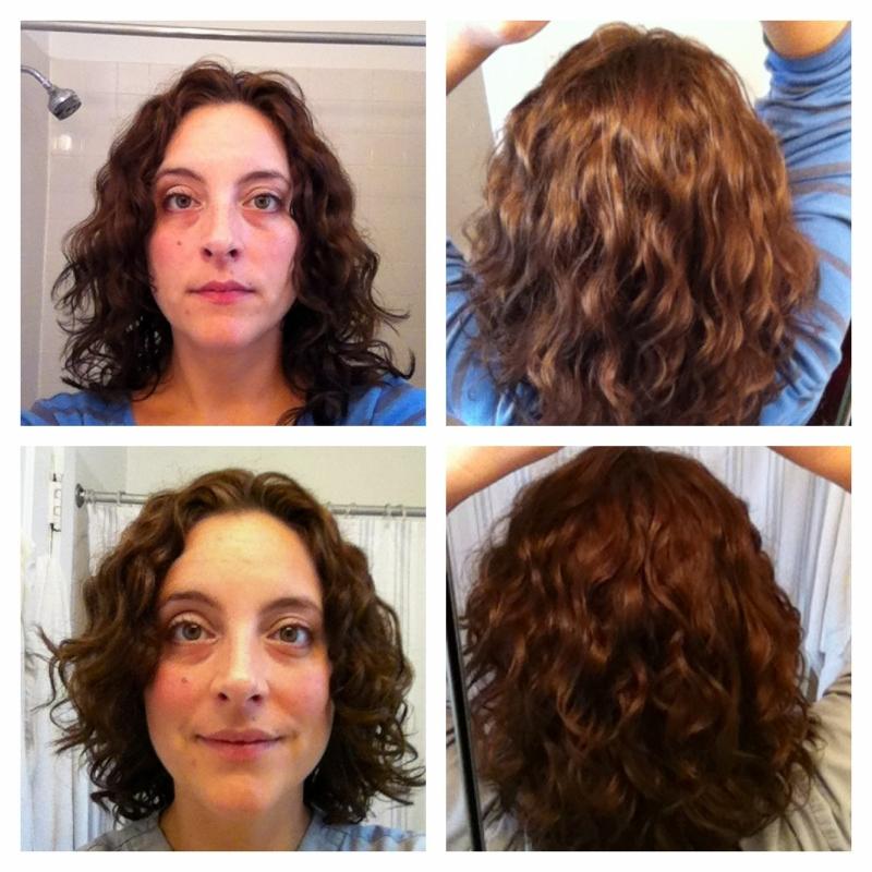 Devacut on 2c/3a hair by meejorda