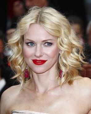 Naomi Watts - Blonde, Celebrities, Wavy hair, Medium hair styles, Female, Curly hair, Bob hairstyles Hairstyle Picture