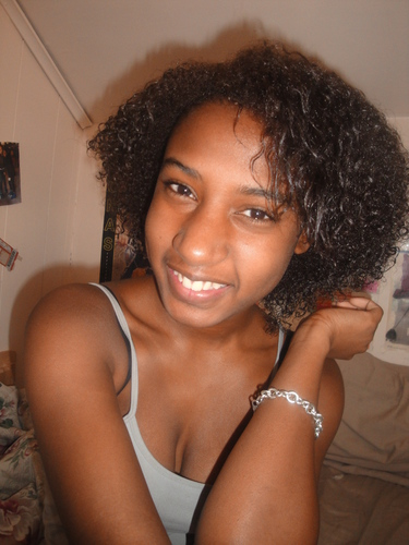 Me Naturally - Brunette, Short hair styles, Readers, Female, Curly hair, Teen hair, Black hair Hairstyle Picture