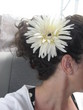 A Flower in my CURLY Hair