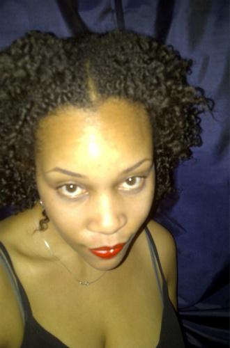 summer trim - 3c, Medium hair styles, Readers, Female, Curly hair, Black hair, Adult hair, Twist out Hairstyle Picture
