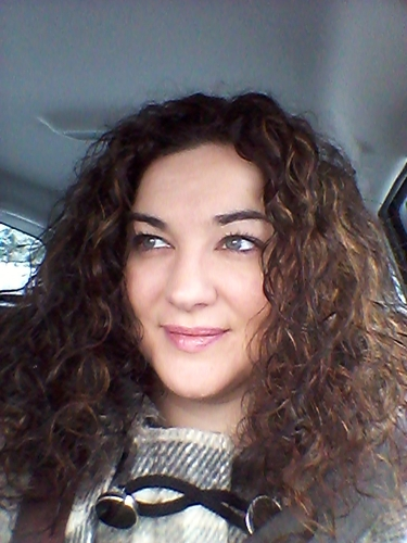 brunette curls with highlights - Readers Hairstyle Picture