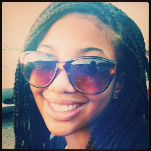 Me and My Boxbraids - Brunette, 3a, Updos, Braids, Readers, Female, Teen hair Hairstyle Picture