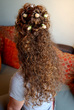 Creative Curly Half Up Half Down