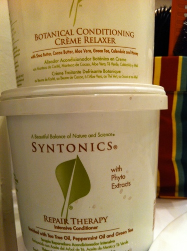 SYNTONICS  BOTANICAL HAIR  RELAX - Black hair Hairstyle Picture