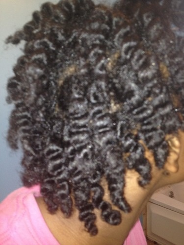 Twist out  - 4a, 4b, Readers Hairstyle Picture