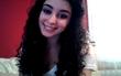 Soft curls, half up