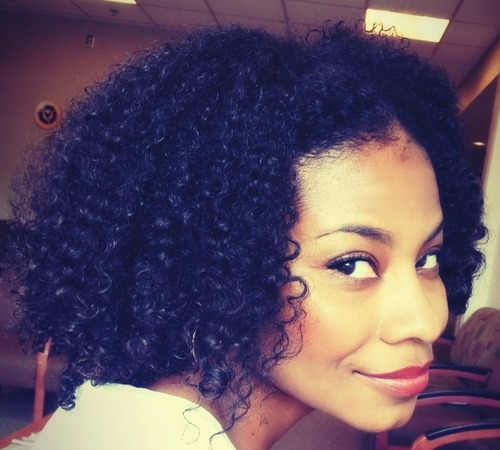 Wash n go - 3b, 3a, 3c, 4a, Medium hair styles, Long hair styles, Readers, Makeovers, Adult hair Hairstyle Picture