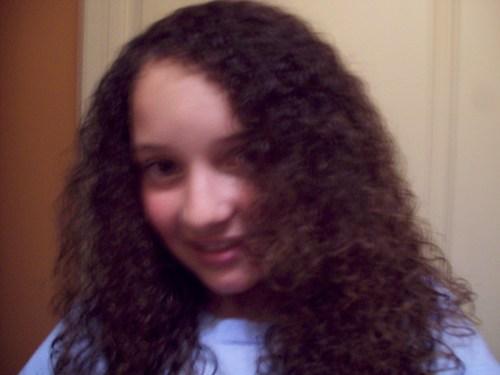 first time i did my hair good by - Brunette, 3b, Medium hair styles, Kids hair, Long hair styles, Female, Curly hair, Teen hair, Natural Hair Celebration Hairstyle Picture