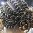 Curly Hair Style: Twist hairstyles