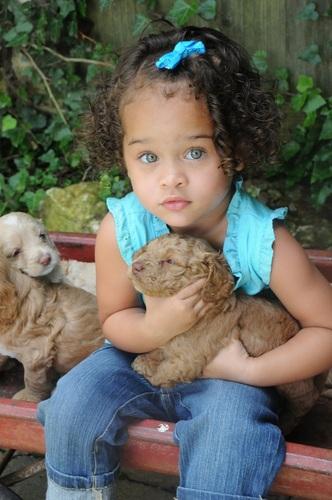 My curly girl - Brunette, 3b, 3c, Medium hair styles, Kids hair, Readers, Female, Curly hair, Black hair, Spiral curls Hairstyle Picture