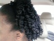 Kinky twist out