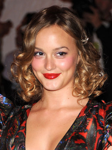 Leighton Meester - Brunette, Celebrities, Female, Curly hair Hairstyle Picture