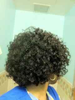 Fluffy curls - Brunette, 4a, 4b, Mature hair, Medium hair styles, Kids hair, Updos, Kinky hair, Twist hairstyles, Readers, Styles, Female, Teen hair, Black hair, Adult hair, Flat twists, Twist out, Curly kinky hair Hairstyle Picture