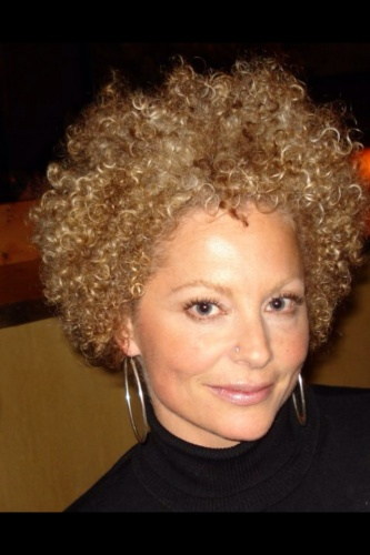 My Blondee Afro  - Blonde, 3c, 4a, Short hair styles, Afro, Readers, Curly hair, Curly kinky hair Hairstyle Picture