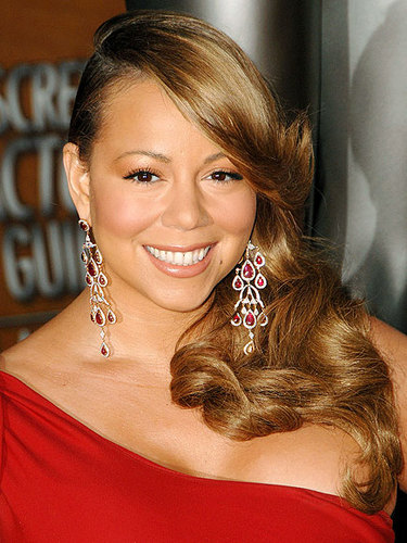 Mariah Carey - Blonde, Celebrities, Wavy hair, Long hair styles, Female, Curly hair Hairstyle Picture